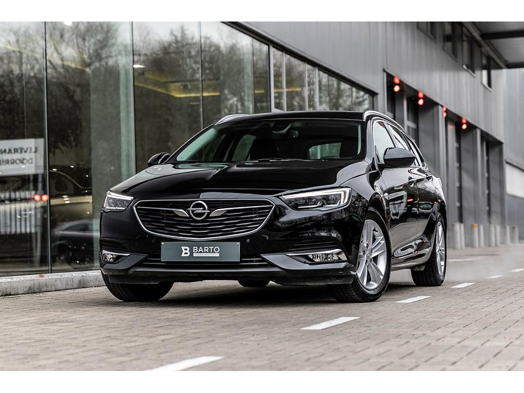 Tweedehands te koop: Opel Insignia Zwart - 15b 165pk - Automaat - Verwarmde zetelsstuurwiel - LED matrix -