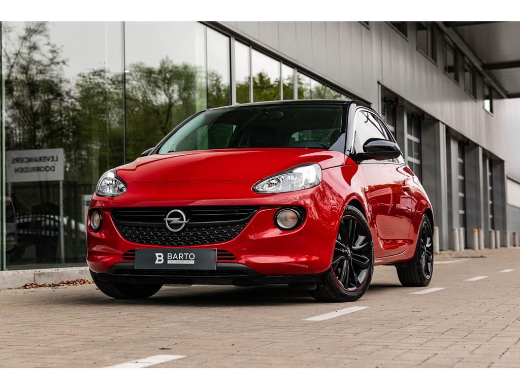 Tweedehands te koop: Opel ADAM Rood - 10T benz 115pkSlamAuto AircoIntellilinkUSB