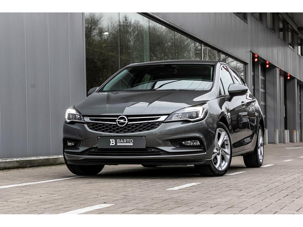 Opel-Astra-Grijs-14-125pk-Offlane-bijsturing-Botswrsch-Parkeersens-va-Keyless-startenter
