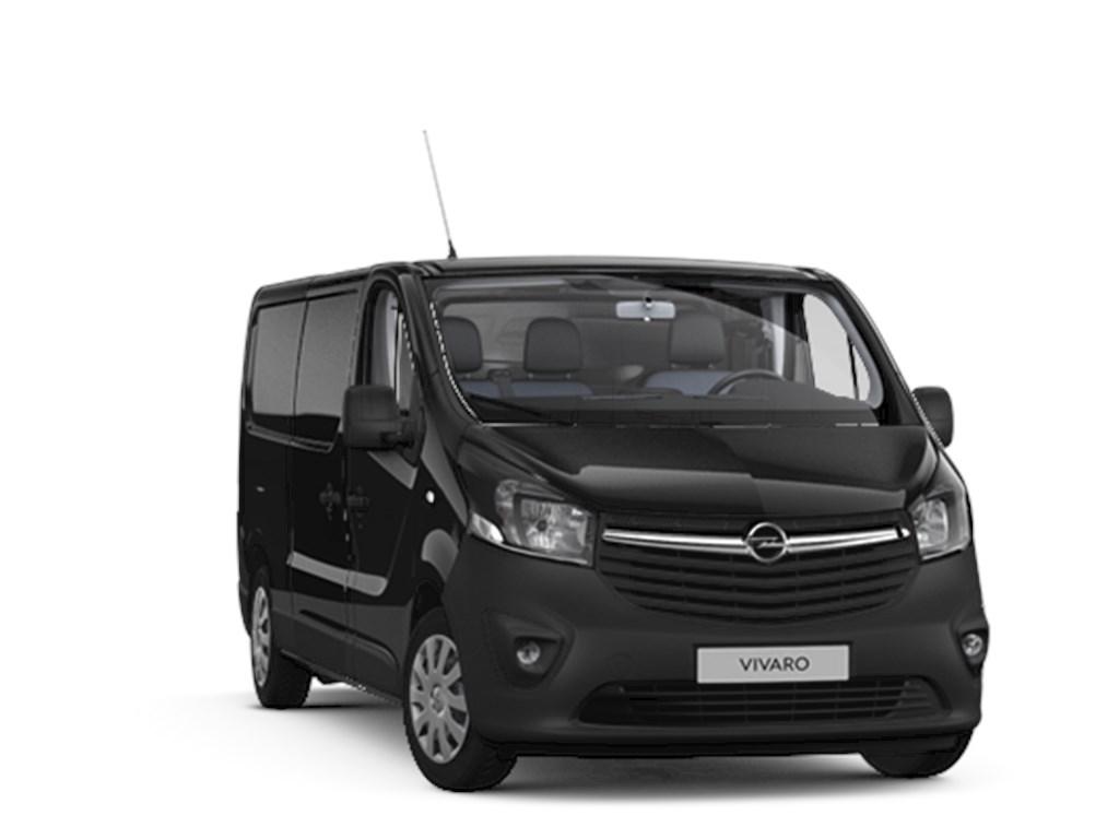 Tweedehands te koop: Opel Vivaro Zwart - Gesloten Bestelwagen Edition L2H1 MTM 30T 16 CDTi 125pk 92kw - Nieuw