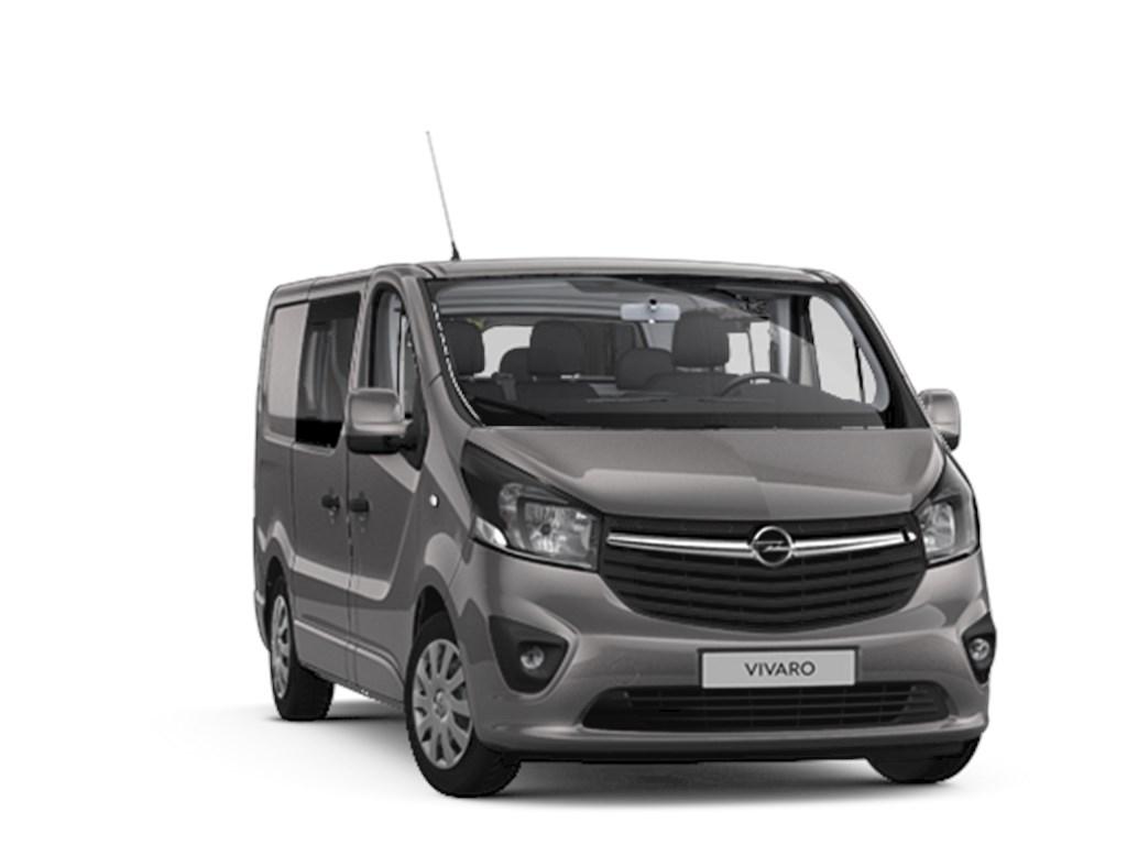 Tweedehands te koop: Opel Vivaro Grijs - Dubbele Cabine Sportive 5pl L1H1 MTM27T 16 CDTi 146pk 107kw - Nieuw