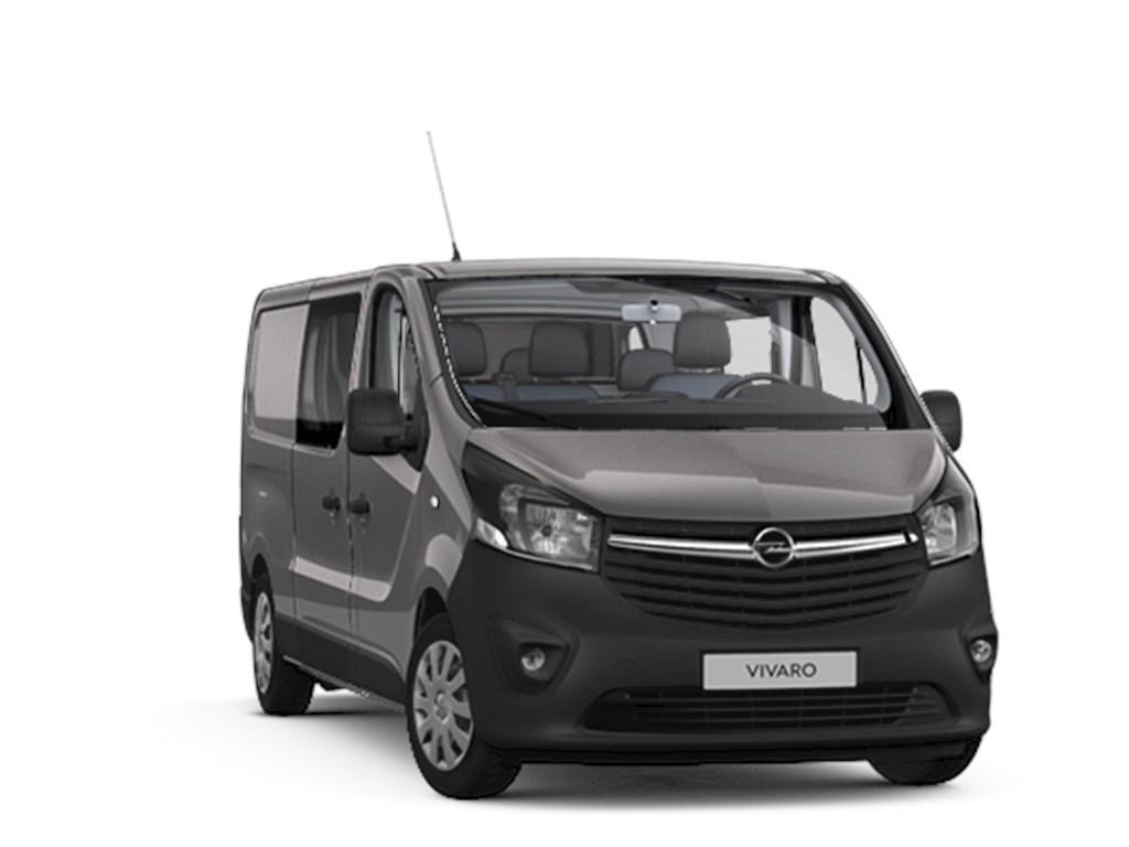 Tweedehands te koop: Opel Vivaro Grijs - Dubbele Cabine Edition 5pl L2H1 MTM29T 16 CDTi 125pk 92kw - Nieuw