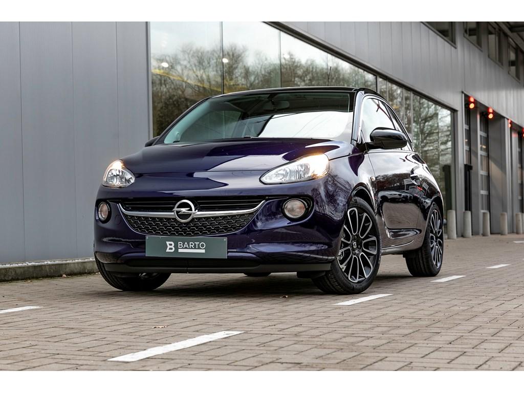 Tweedehands te koop: Opel ADAM Blauw - Glam 12 Benz 70pk - Manueel 5 versn - Nieuw