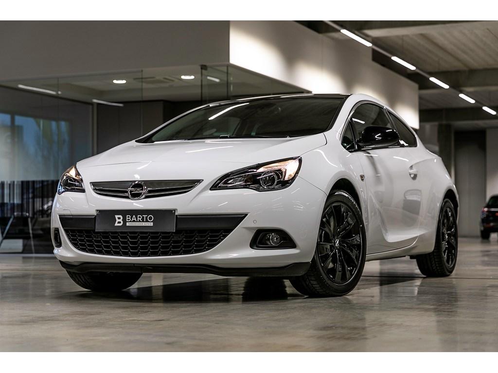 Tweedehands te koop: Opel Astra Wit - GTC 14b 120pk - Black Edition - Flexcare 052020 - Sportzetels - Navi - Parkeersens va