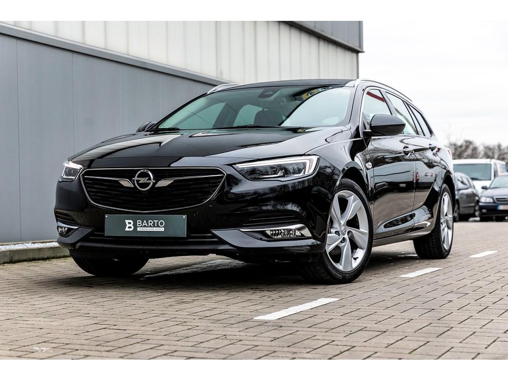 Tweedehands te koop: Opel Insignia Zwart - 15b 140pk - Leder - LEDMatrix - Navi - Verwarmde zetelsstuurwiel -