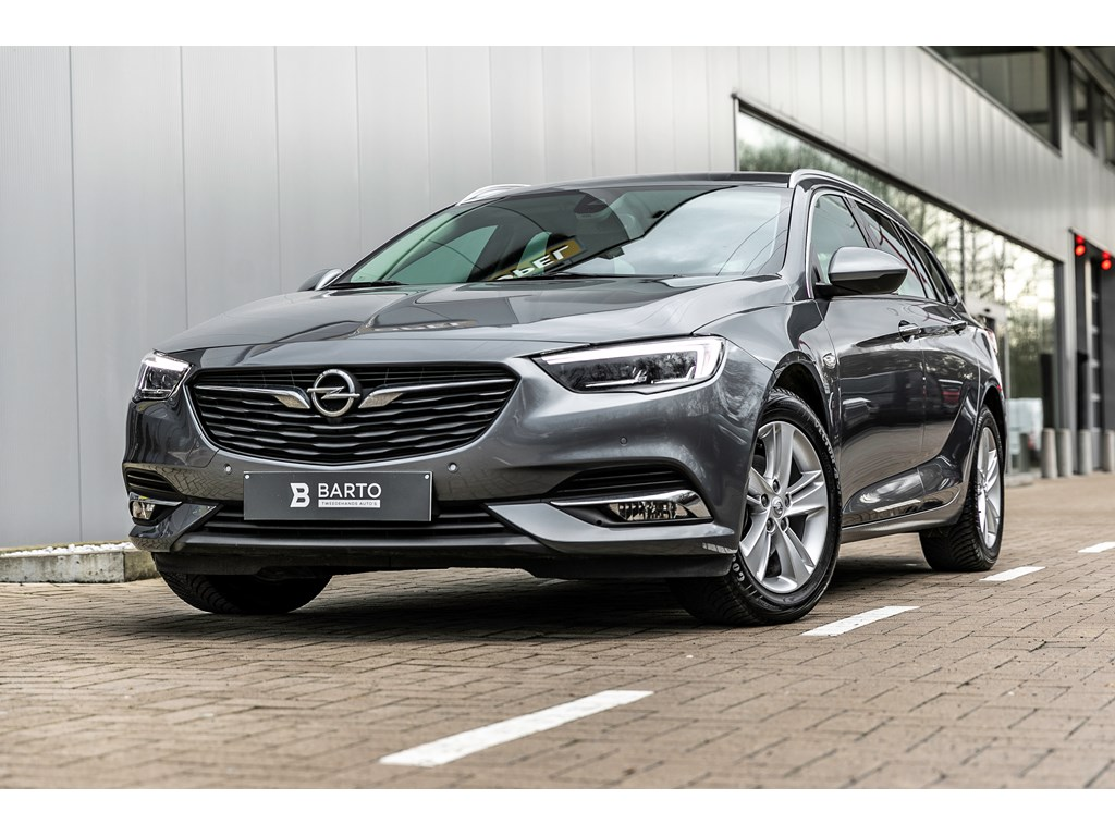 Tweedehands te koop: Opel Insignia Grijs - 15b 140pk - Leder - Offlane - Keyless startenter - LED Matrix -