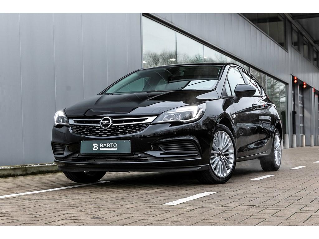Tweedehands te koop: Opel Astra Zwart - 14b 150pk Automaat - Navi - Parkeersens VA -