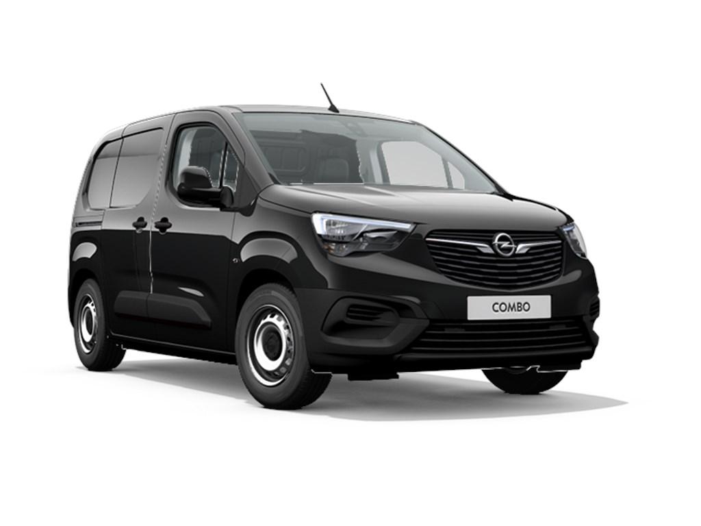 Tweedehands te koop: Opel Combo Zwart - L1H1 Edition 16 Turbo D Diesel Manueel 5 - 75pk 56kw - Nieuw