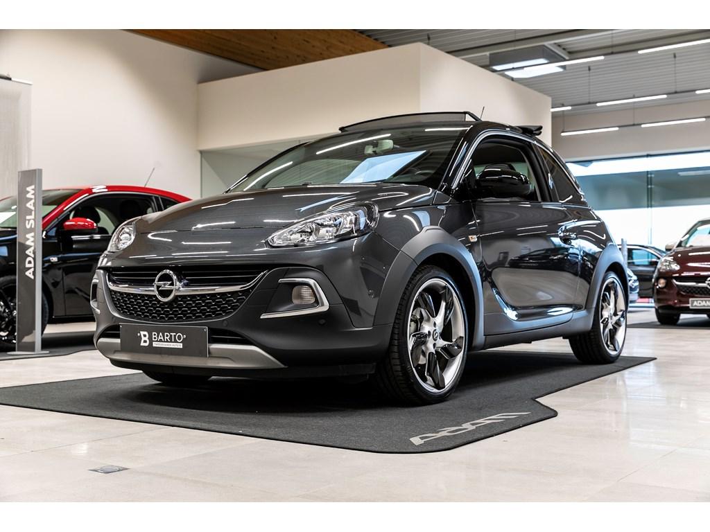 Tweedehands te koop: Opel ADAM Grijs - 14b 87pk - ROCKS Cabrio - Automaat - Parkeersens va - Intellilink -