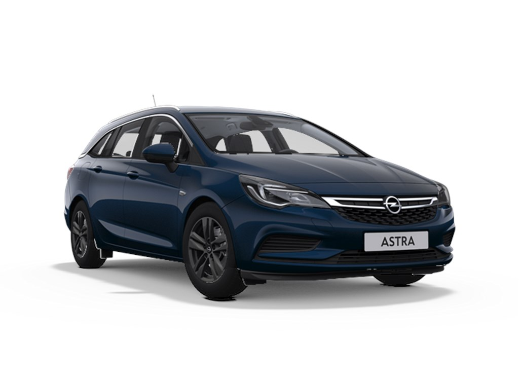 Tweedehands te koop: Opel Astra Blauw - Sports Tourer 14 Turbo 125pk 120 Years Edition Start Stop Manueel 5 - Nieuw