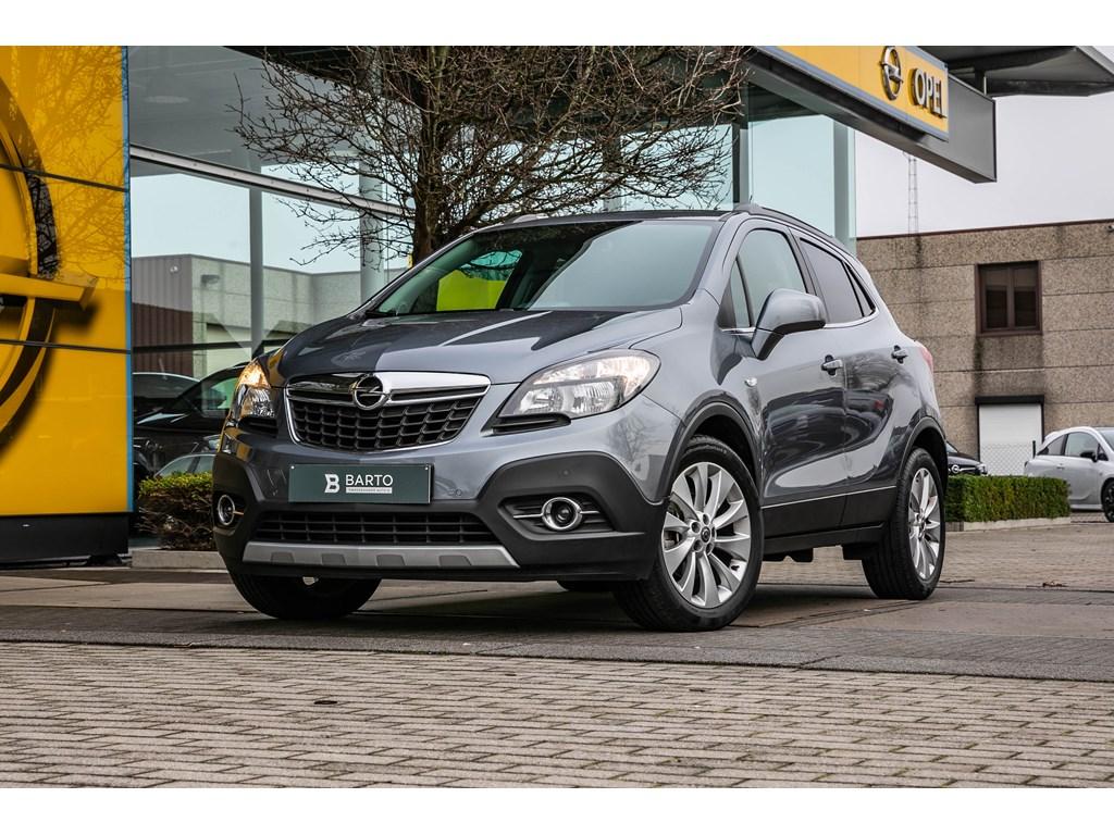 Tweedehands te koop: Opel Mokka Grijs - 17d 130pk - Leder - Camera - Navi - Parkeersens -