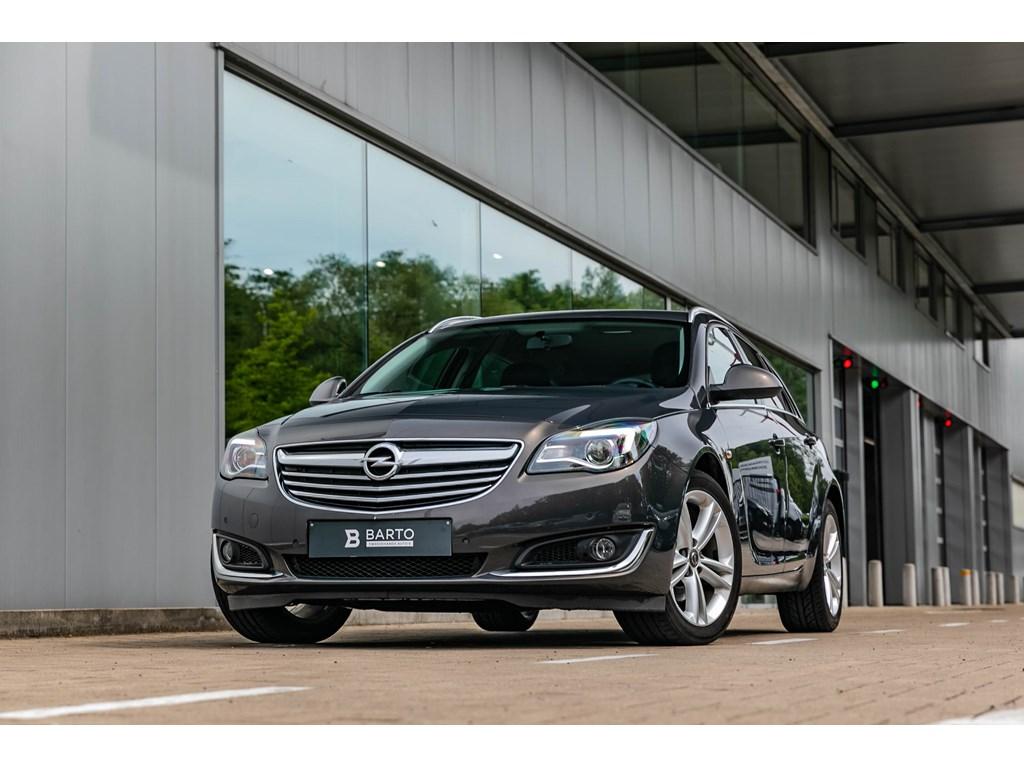 Tweedehands te koop: Opel Insignia Anthraciet - 20dBreakNaviParkeersensAuto Airco18AluVelg
