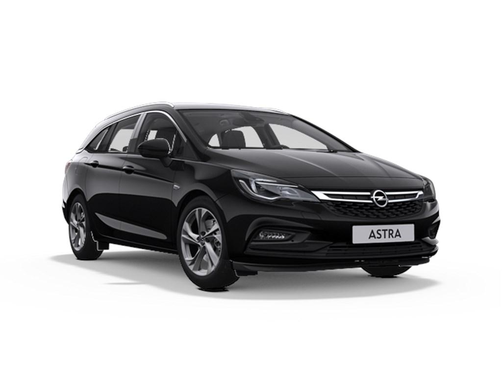 Tweedehands te koop: Opel Astra Zwart - Sports Tourer 14 Turbo 125pk Innovation Start Stop Manueel 6 - Nieuw