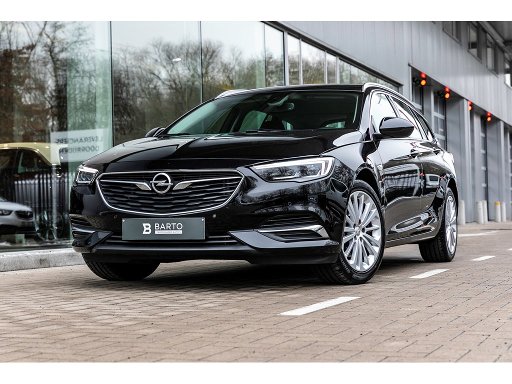 Tweedehands te koop: Opel Insignia Zwart - 15b 165pk - AUTOMAAT - LED Matrix - Verwarmde zetelsstuur -