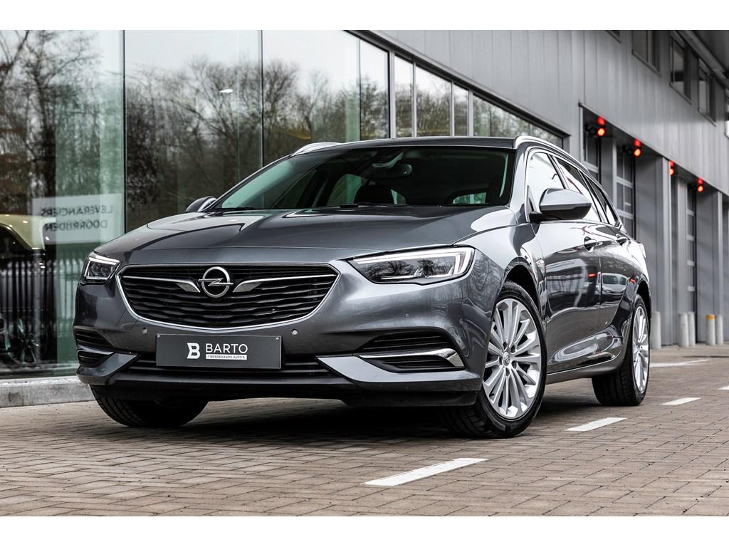 Tweedehands te koop: Opel Insignia Grijs - 15b 165pk - AUTOMAAT - LED Matrix - Verwarmde zetelsstuur -
