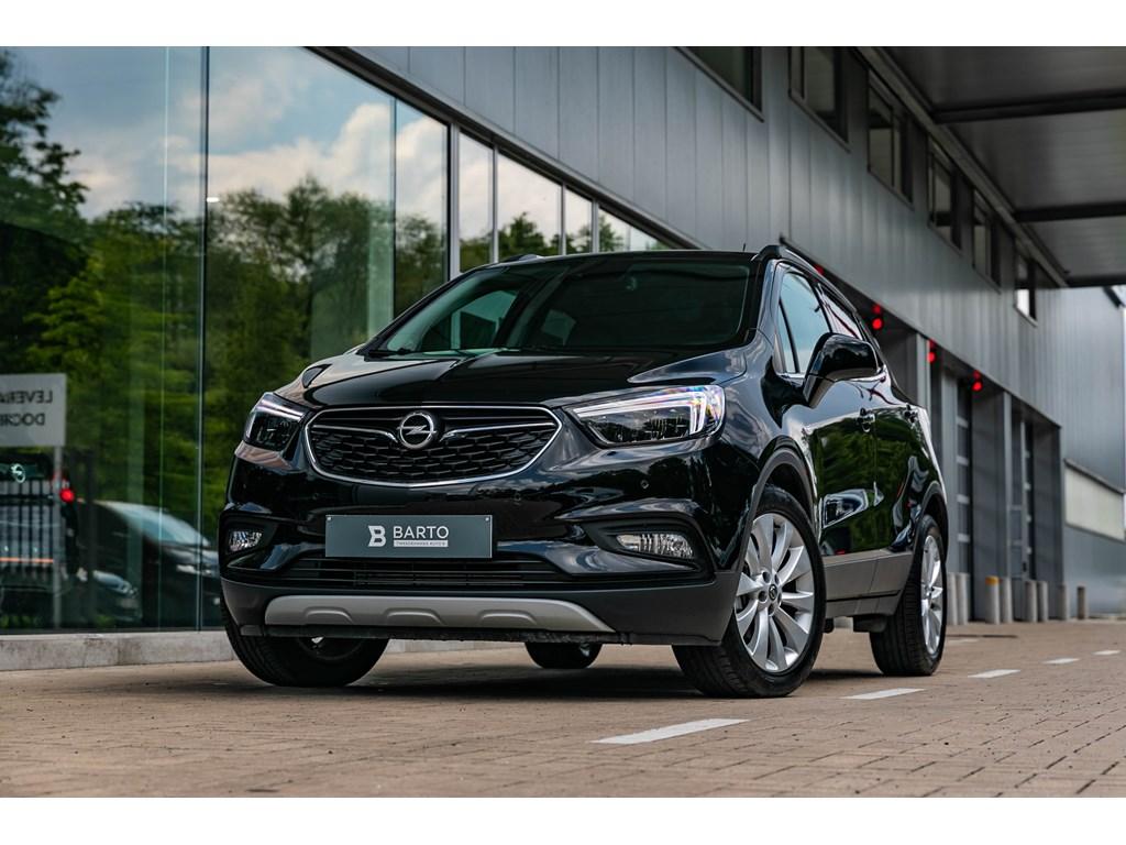Tweedehands te koop: Opel Mokka Zwart - 14b 140pkLEDMatrixLederKeylessCameraOfflane