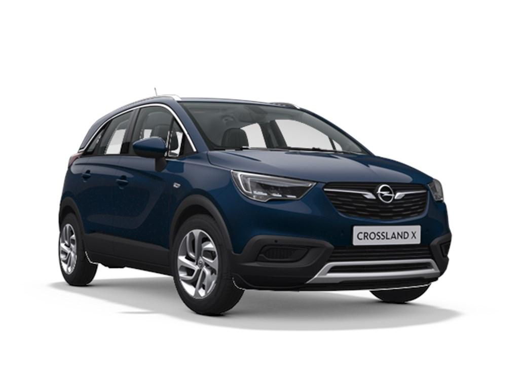Tweedehands te koop: Opel Crossland X Blauw - Innovation 12 Turbo benz Automaat 6 StartStop - 110pk 81kw - Nieuw