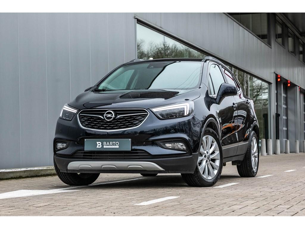 Tweedehands te koop: Opel Mokka Blauw - 14B 140pk - Leder - Camera - Keyless startenter - LED Matrix -
