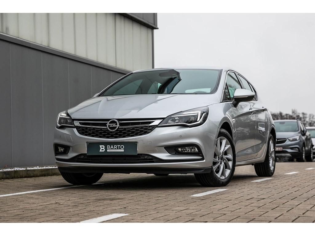 Tweedehands te koop: Opel Astra Zilver - 14b 150pk - Automaat - Dodehoek - Parkeerhulp - Camera - Botswaarschuwing -