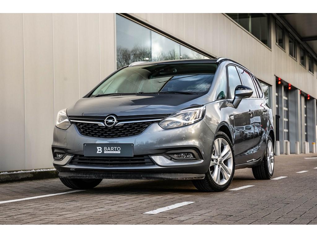 Tweedehands te koop: Opel Zafira Grijs - 16b 136pk - AUTOMAAT - Camera - Verwarmde zetelsstuur - Dodehoek - Offlane -