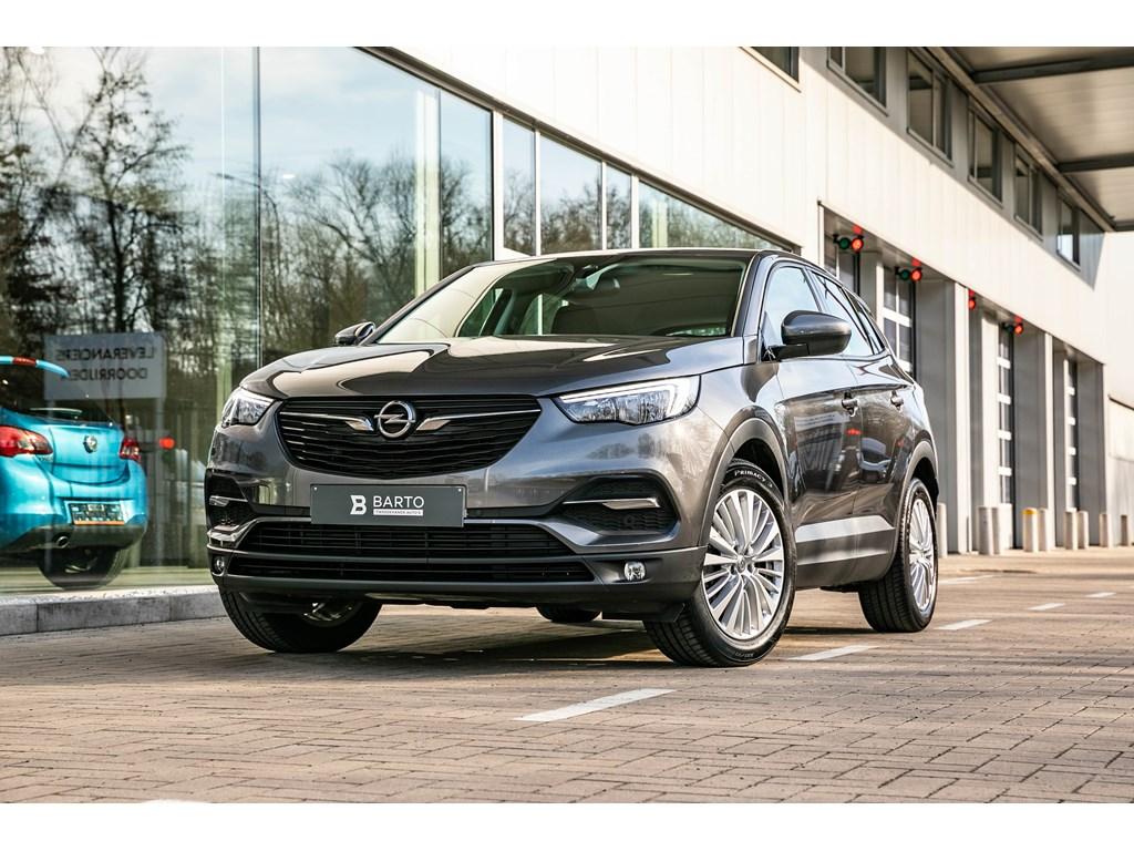 Tweedehands te koop: Opel Grandland X Grijs - 12B 130pk - OFFlane - Navi - Auto Airco - Parkeersensoren -