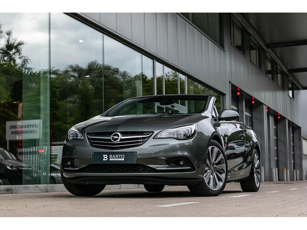Tweedehands te koop: Opel Cascada Grijs - 14b 140pk - Leder - Camera - Elektr Zetels -