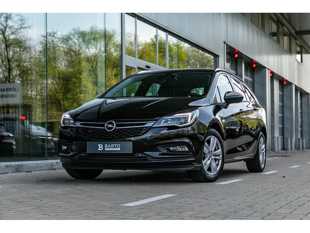 Tweedehands te koop: Opel Astra Zwart - 14T Benz autom Navi Alu velgen