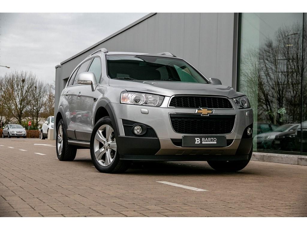 Tweedehands te koop: Chevrolet Captiva Grijs - LTZ - Navigatie - 7 Zit - 163PK - 2 Ton trekverm