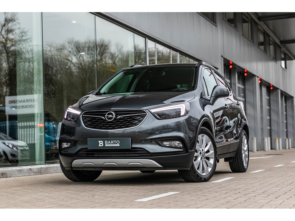 Tweedehands te koop: Opel Mokka Grijs - 14B 140pk - Leder - Camera - Keyless startenter - LED Matrix -