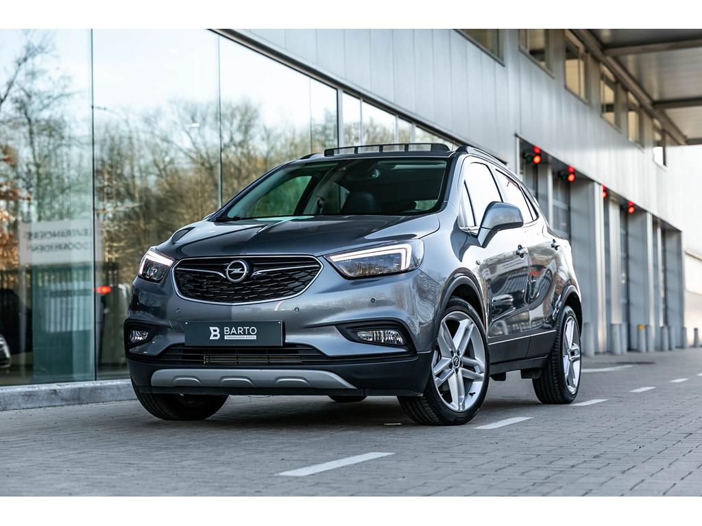 Tweedehands te koop: Opel Mokka Grijs - 14T140pkOpen DakLED matrixLederCamera19 wielen