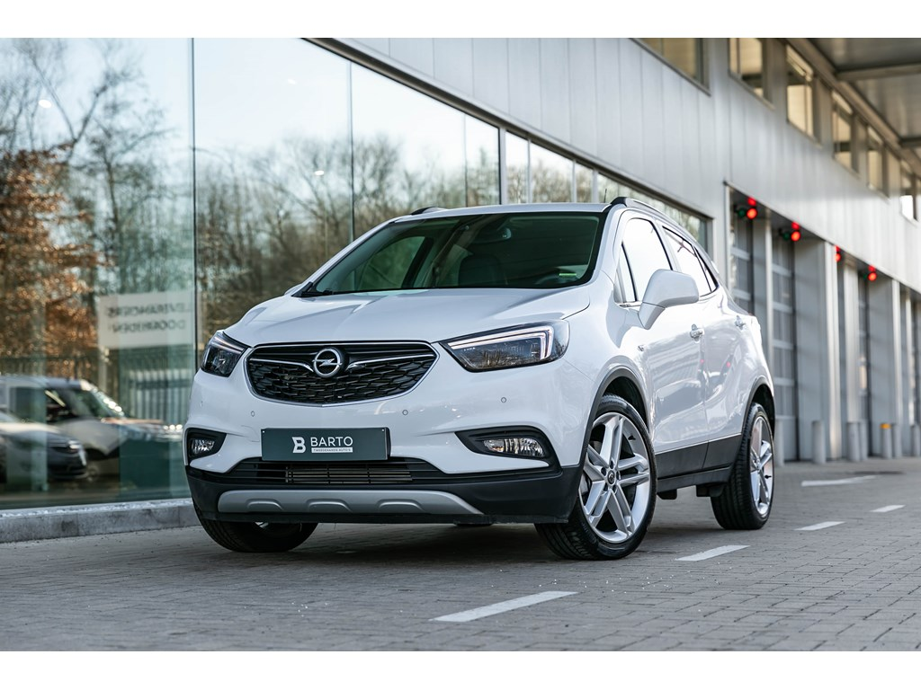 Tweedehands te koop: Opel Mokka Wit - 14T140pkOpen DakLED matrixLederCamera19 wielen