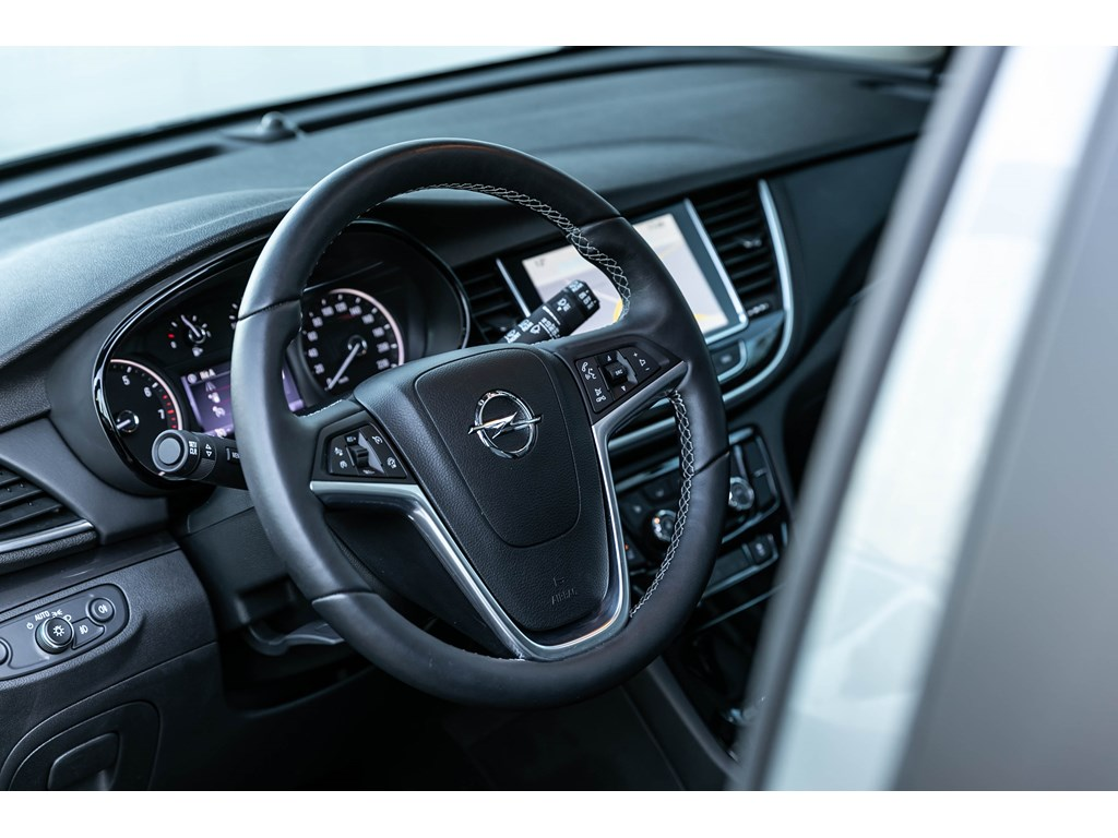 Tweedehands te koop: Opel Mokka Blauw - 14b 140pk - AUTOMAAT - Leder - LEDMatrix - Camera - Offlane -
