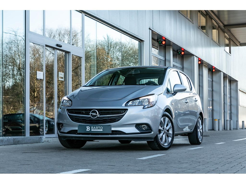 Tweedehands te koop: Opel Corsa Zilver - 14b 90pk - Intellilink - Cruisectrl - Airco - Bluetooth -