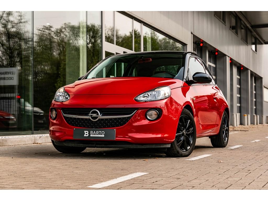 Tweedehands te koop: Opel ADAM Rood - 12b 70pk - Airco - Parkeersens - Intellilink -