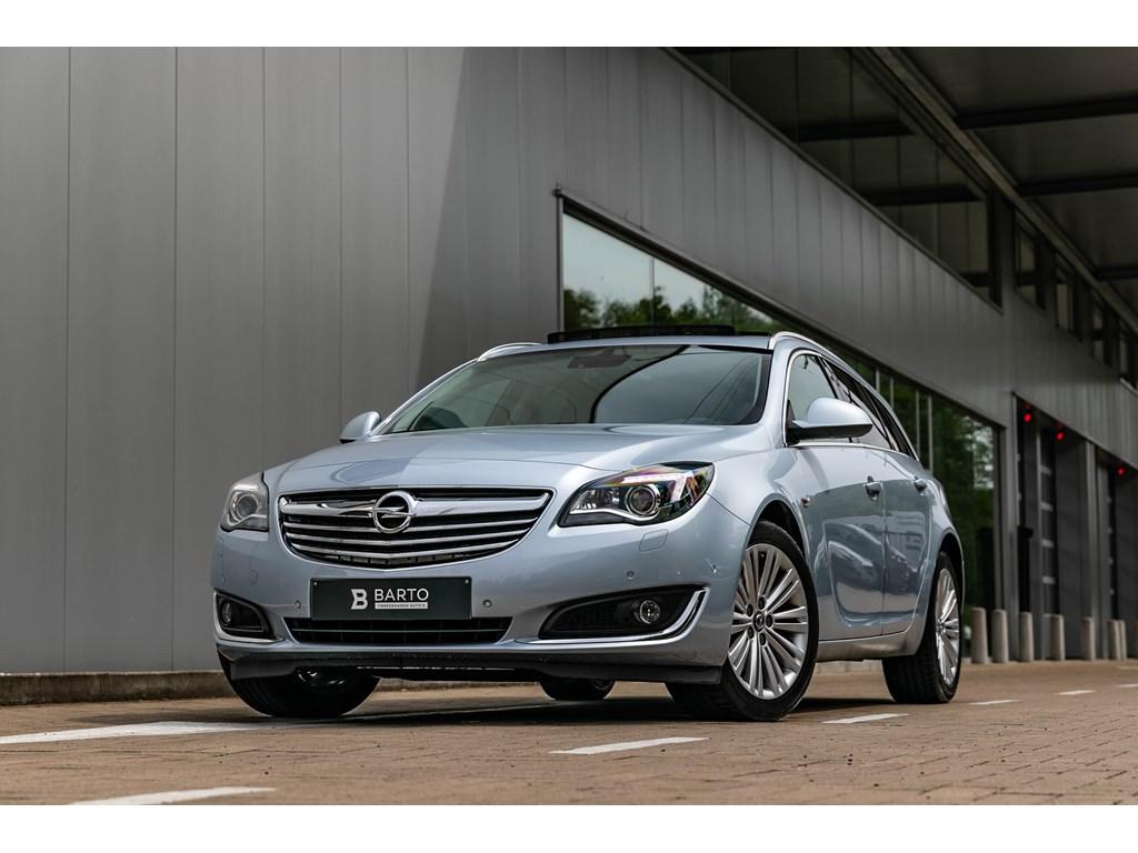Tweedehands te koop: Opel Insignia Zilver - 20d 163PKAutomXenonPano dakElektr KofferLeder