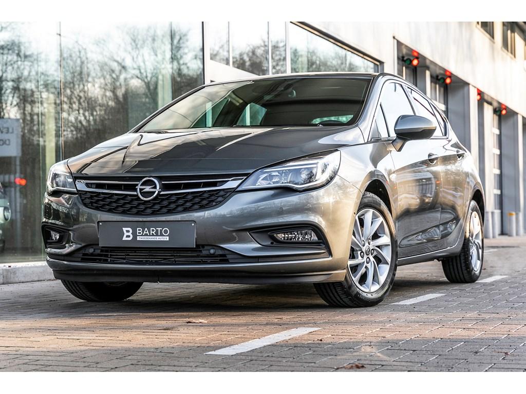 Opel-Astra-Grijs-14b-125pk-Offlane-Camera-Botswrsch-Dodehoeksens-