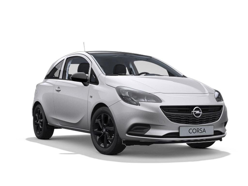 Tweedehands te koop: Opel Corsa Zilver - 3-deurs Black Edition 12 Benz 70pk - Nieuw