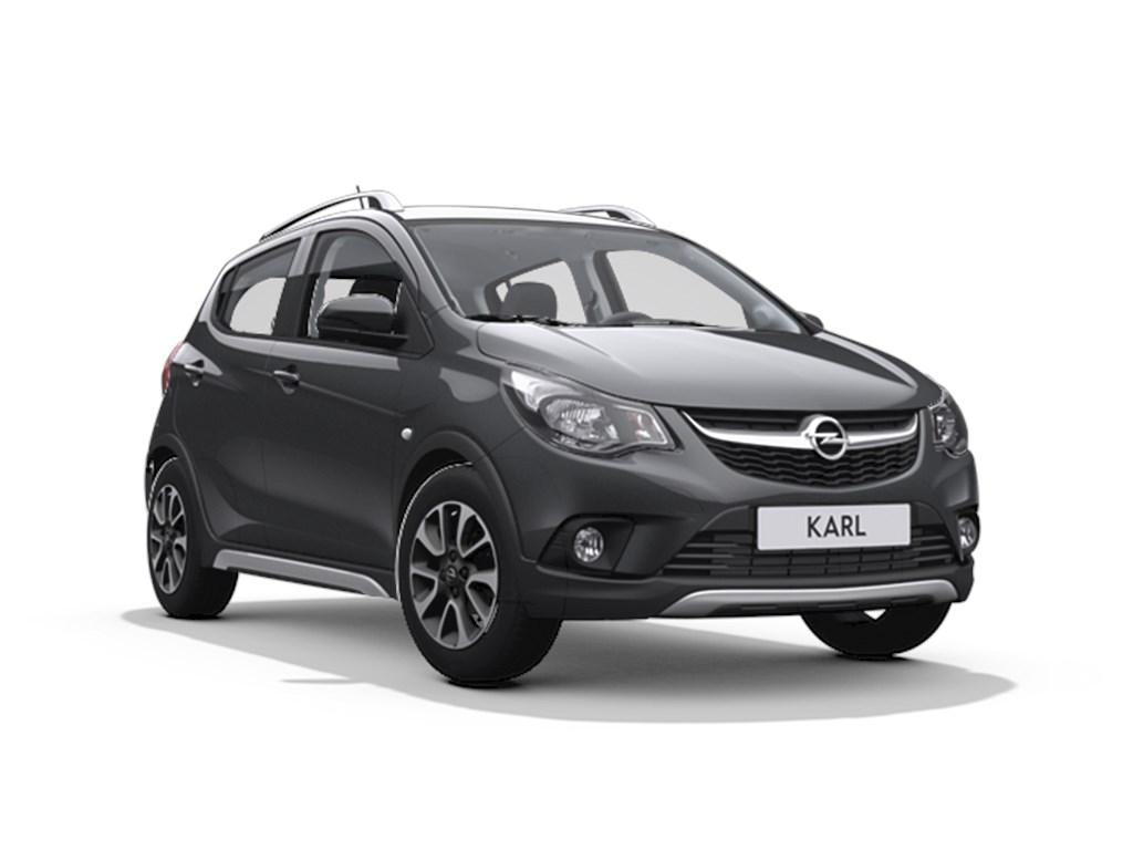 Tweedehands te koop: Opel KARL Grijs - 5-Deurs Rocks 10 Benz 73pk - Demo