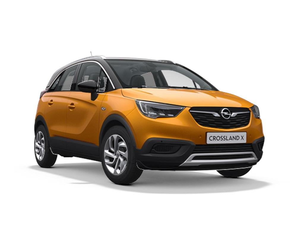 Tweedehands te koop: Opel Crossland X Oranje - Innovation 12 Turbo benz Manueel 6 StartStop - 110pk 81kw - Nieuw