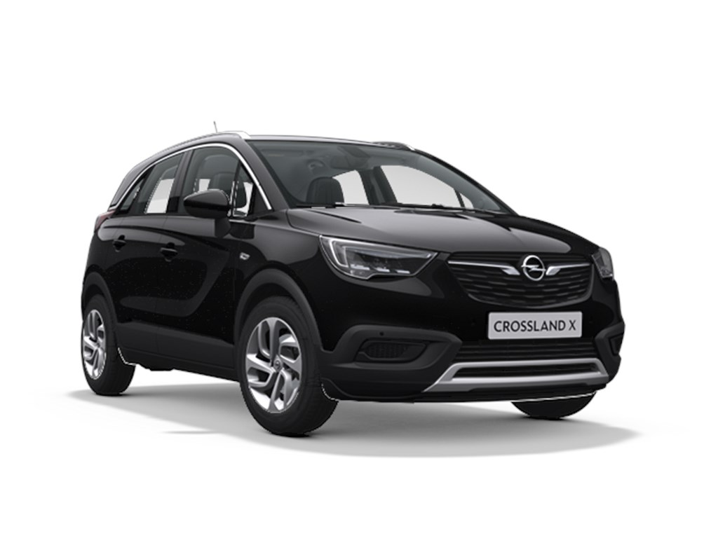 Opel-Crossland-X-Zwart-Innovation-12-Turbo-benz-Automaat-6-StartStop-110pk-81kw-Nieuw