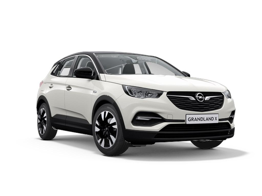 Tweedehands te koop: Opel Grandland X Wit - Innovation 12 Turbo benz Automaat 8 StartStop - 130pk 96kw - Nieuw