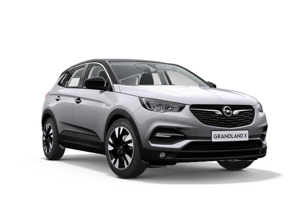 Tweedehands te koop: Opel Grandland X Grijs - Design Line 12 Turbo benz Automaat 8 StartStop - 130pk 96kw - Nieuw