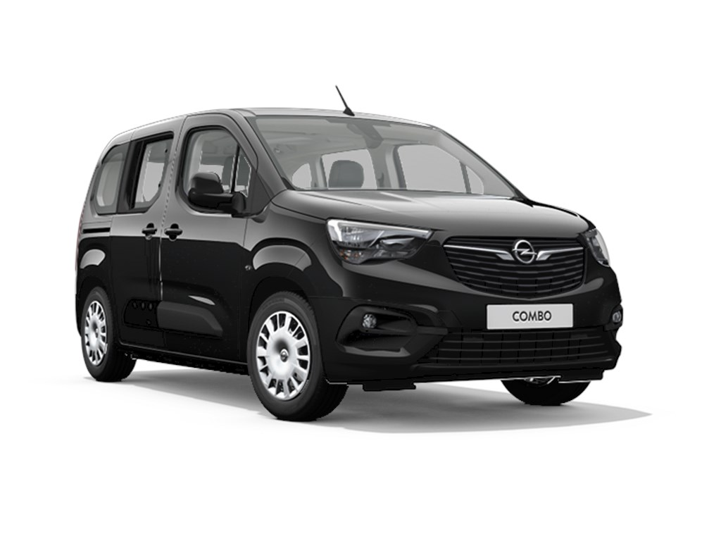 Tweedehands te koop: Opel Combo Zwart - Life Edition 12 Turbo benz Manueel 6 StartStop - 110pk 81kw - Nieuw
