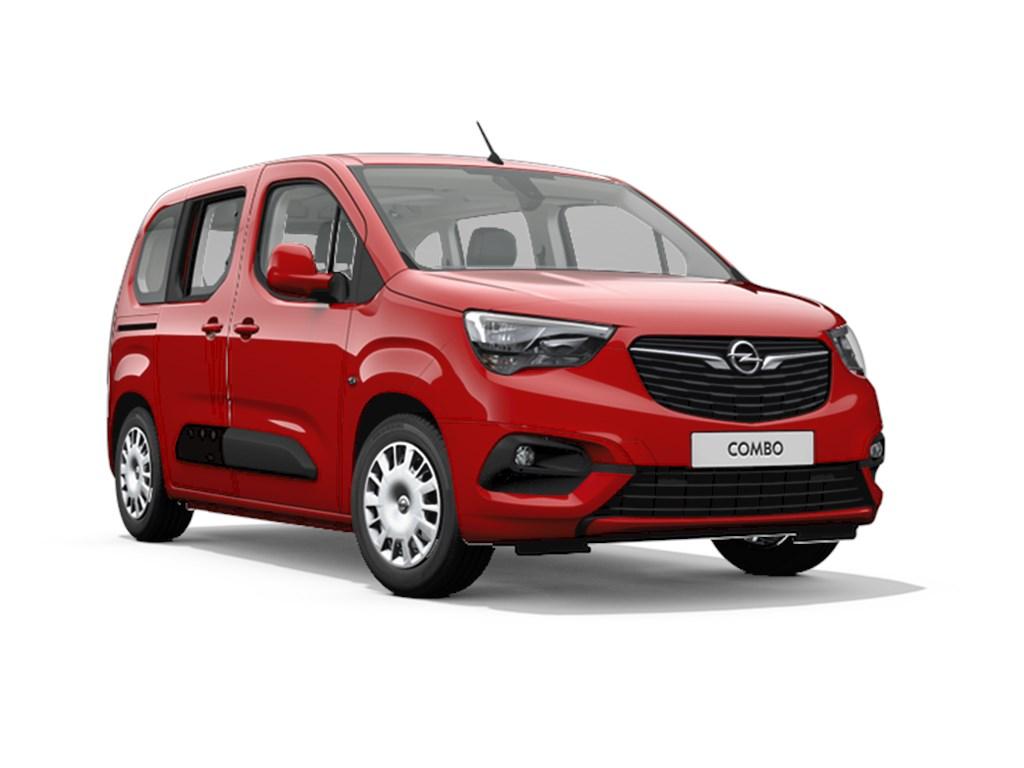 Tweedehands te koop: Opel Combo Rood - Life Edition 12 Turbo benz Manueel 6 StartStop - 110pk 81kw - Nieuw