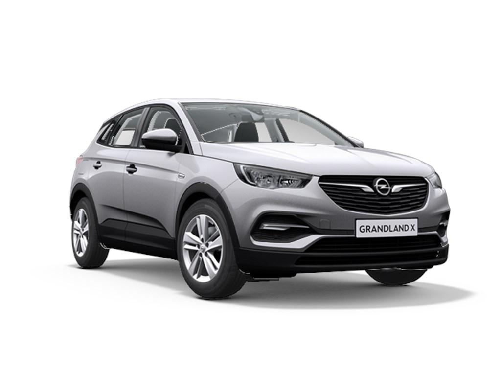 Tweedehands te koop: Opel Grandland X Grijs - Edition 12 Turbo benz EcoTec - Manueel 6 StartStop - 130pk 96kw - Nieuw