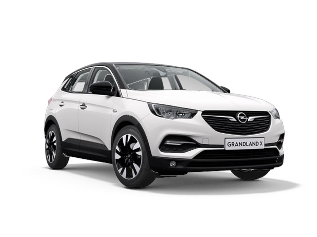 Tweedehands te koop: Opel Grandland X Wit - Design Line 12 Turbo benz Manueel 6 StartStop - 130pk 96kw - Nieuw