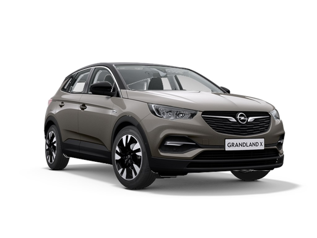 Tweedehands te koop: Opel Grandland X Grijs - Innovation 12 Turbo benz Manueel 6 versnellingen StartStop - 130pk 96kw - Nieuw