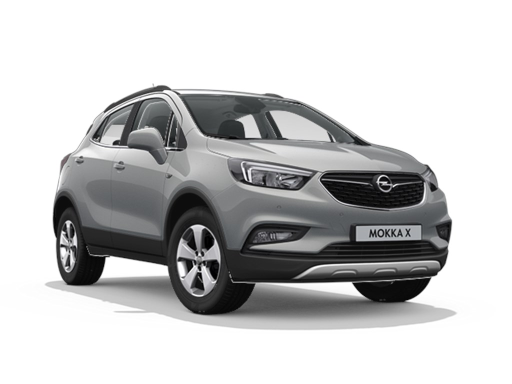 Tweedehands te koop: Opel Mokka X Grijs - Innovation 14 Turbo benz Manueel 6 versnellingen StartStop - 120pk 88kw - Nieuw