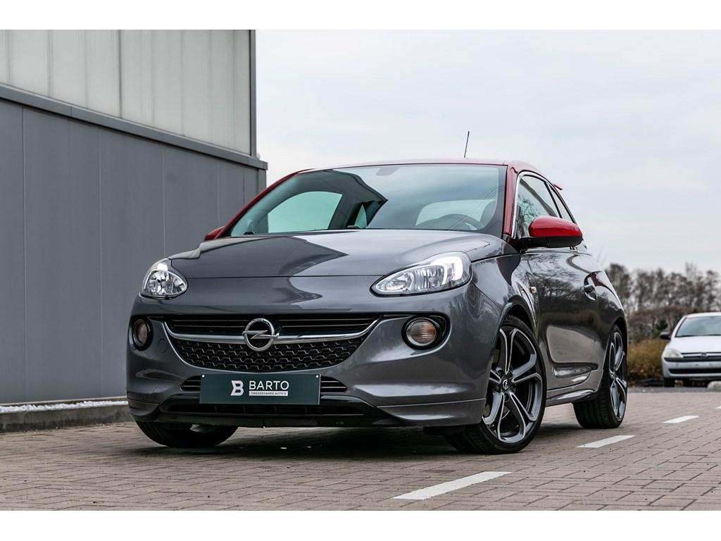 Tweedehands te koop: Opel ADAM Grijs - 14b 150pk - Adam S - Recaro - BiColor Alu velg - Parkeersens - verwarmde zetelsstuurwiel