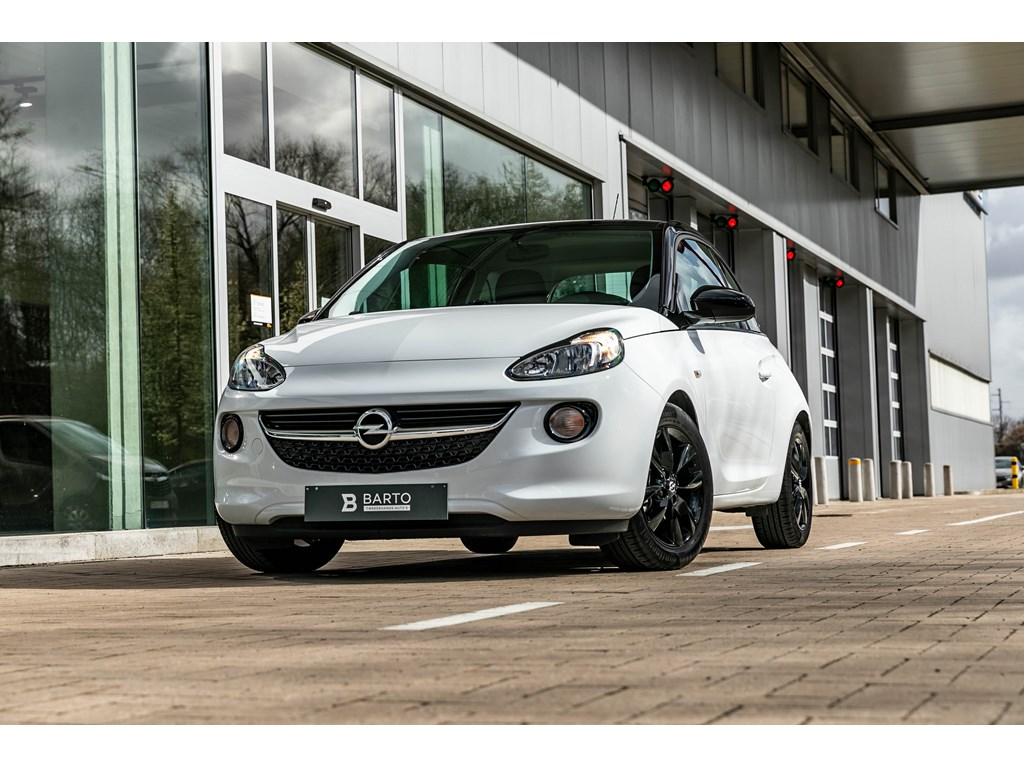 Tweedehands te koop: Opel ADAM Wit - 14b 100pk - Intellilink - Parkeersens - Cruisectrl - Bluetooth -